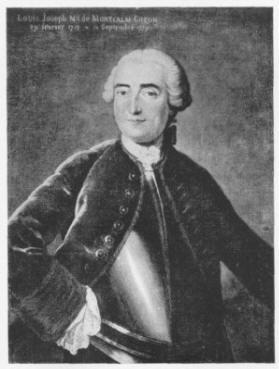 Portrai de Louis-Joseph de Montcalm