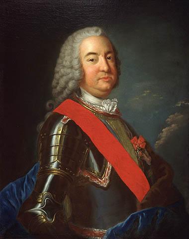 Portrais du Marquis de Vaudreuil