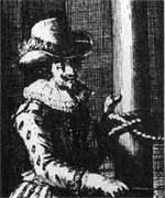 Gravure de Charles de biencourt de poutrincourt