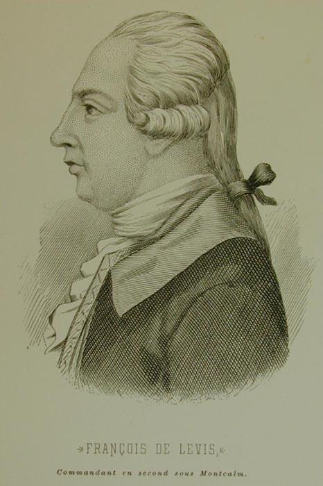 Gravure de François de Lévis, duc de Lévis