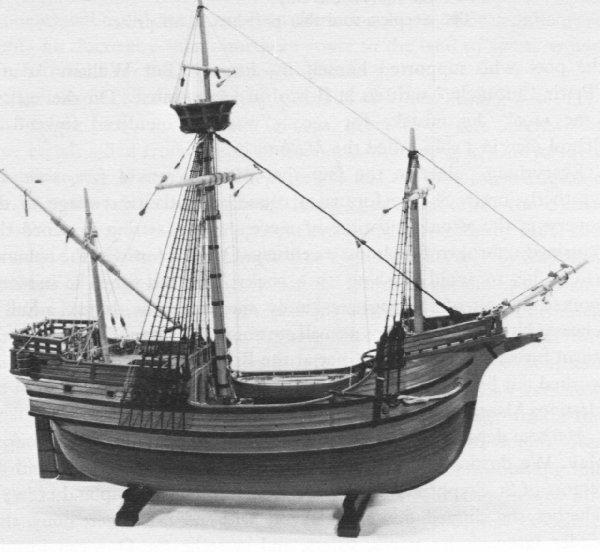 Model of John Cabot's Mathew
