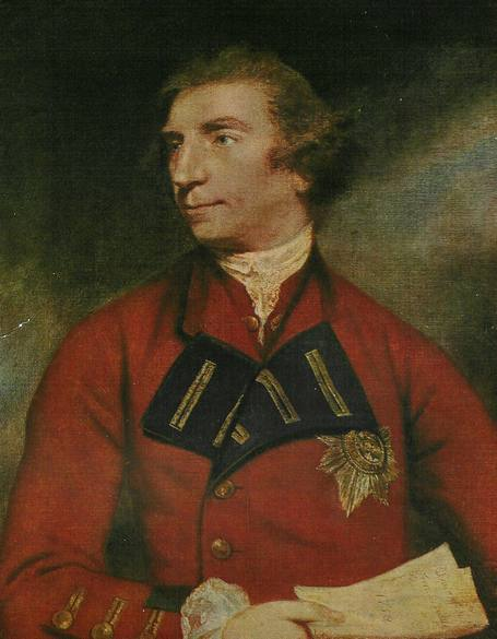 Portrai de Jeffery Amherst