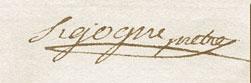 Signature Sigogne