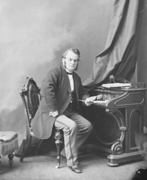 photo Sir Samuel Leonard Tilley
