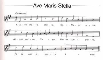 l'Ave Maris Stella