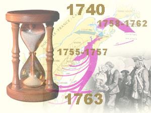 image chrinilogie 1740 à 1763