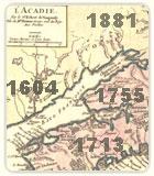 Image section sur l'Histoire Acadienne et chronologie