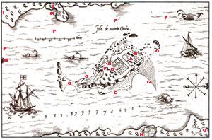 Ile Sainte-Croix par Champlain