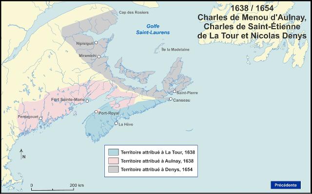 Territoire LaTour / d'Aulnay / Denys